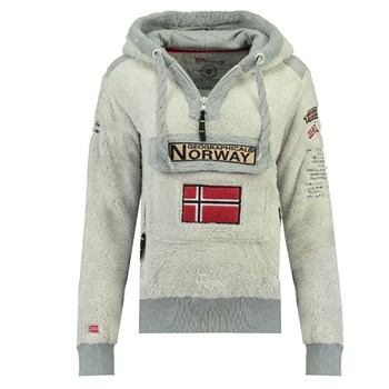 Geographical Norway - GYMCLASS SHERCO - Polaire - gris clair