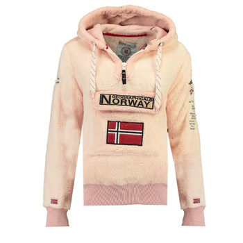 Geographical Norway - GYMCLASS SHERCO - Polaire - rose