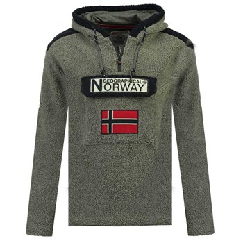 Geographical Norway - Gymclass - Polaire - gris foncé