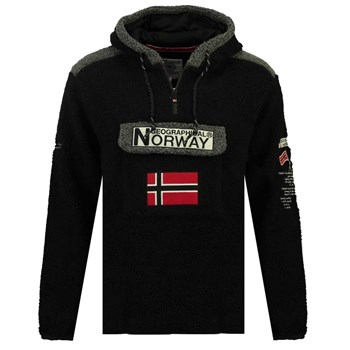 Geographical Norway - Gymclass - Polaire - noir