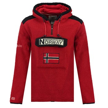 Geographical Norway - Gymclass - Polaire - rouge