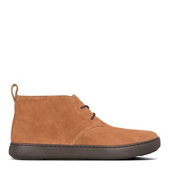 FitFlop - Zackery - Bottines en daim - camel