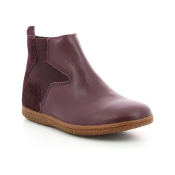 Kickers - Vermillon - Bottines en cuir - violet