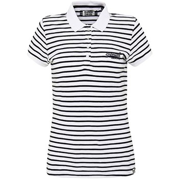 Superdry - Polo manches courtes - blanc