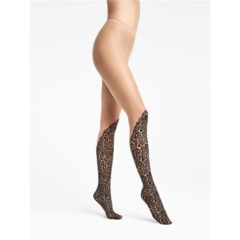 Wolford - Banded Poison Dart - Collant fantaisie - noir