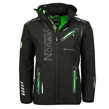 Geographical Norway - Royaute - Softshell - noir