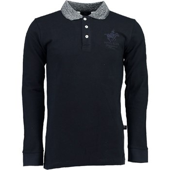 Geographical Norway - Kniker - Polo manches longues - noir