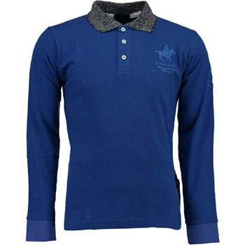 Geographical Norway - Kniker - Polo manches longues - bleu