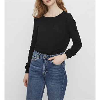 Vero Moda - Minnie - Top - noir