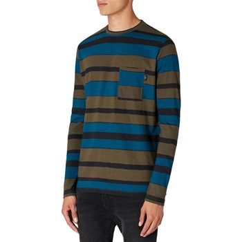 Paul Smith - Regular Fit - T-shirt manches longues - kaki