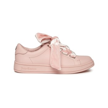 Juicy Couture - Baskets basses en cuir - rose