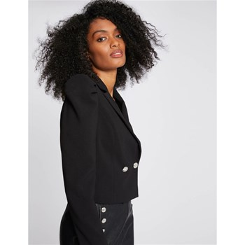 Morgan - Vague - Veste - noir