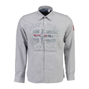 Geographical Norway - Zolduc - Chemise manches longues - gris