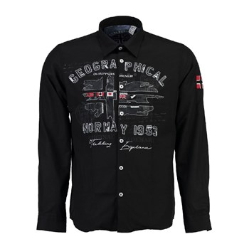 Geographical Norway - Zolduc - Chemise manches longues - noir