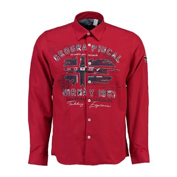 Geographical Norway - Zolduc - Chemise manches longues - rouge