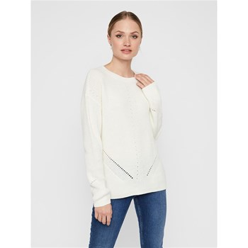 Pieces - Karie - Pull - blanc
