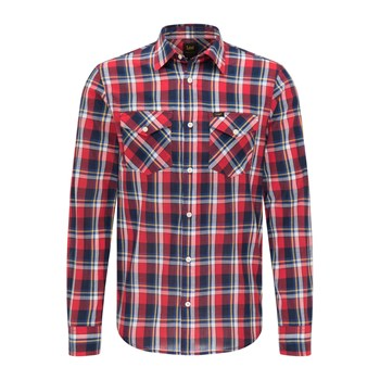 Lee - Chemise manches longues - rouge