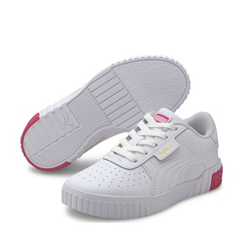 Puma - Cali ps - Baskets basses en cuir - blanc
