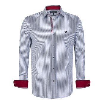 Sir Raymond Tailor - Tiziano - Chemise manches longues - bleu
