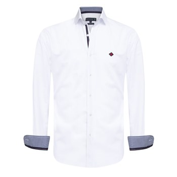 Sir Raymond Tailor - Adre - Chemise manches longues - blanc