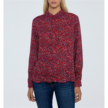 Pepe Jeans London - Camelia - Chemise manches longues - rouge