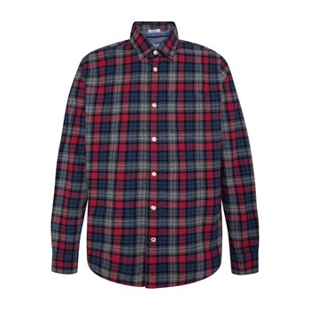 Pepe Jeans London - Telford - Chemise manches longues - rouge