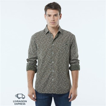 Lee Cooper - Dabby - Chemise manches longues - kaki