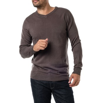 Sinéquanone Homme - Pull col V - anthracite