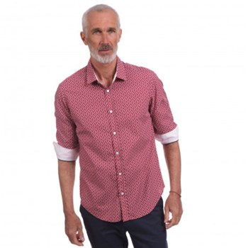 Camberabero - Chemise manches longues - corail
