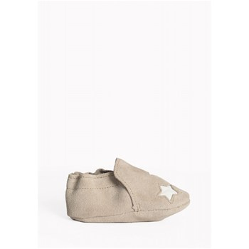 Minnetonka - Star infant bootie - Chaussons - gris clair