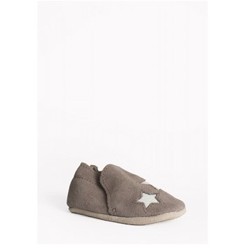 Minnetonka - Star infant bootie - Chaussons - gris