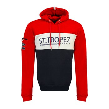 Geographical Norway - Firrens - Sweat à capuche - rouge