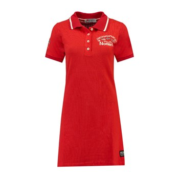 Geographical Norway - Kotchella - Robe polo - rouge