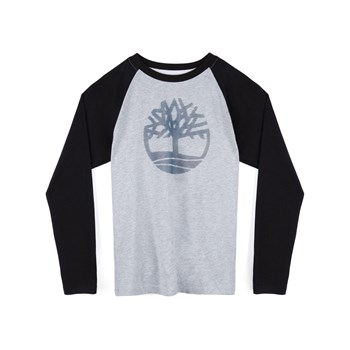 Timberland - T-shirt manches longues - gris