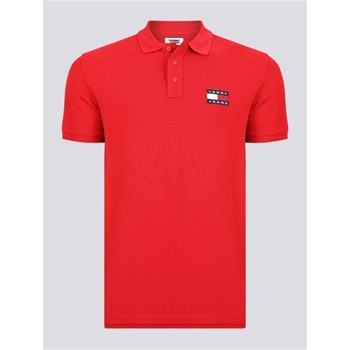 Tommy Jeans - Polo manches courtes - rouge