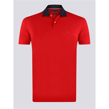 Tommy Hilfiger - Polo manches courtes - rouge