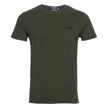 Superdry - T-shirt manches courtes - olive