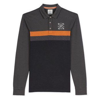 Oxbow - Nayam - Polo manches longues - anthracite