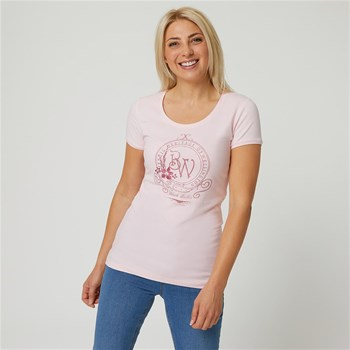 Black Wellis - Imperial heritage - T-shirt manches courtes - rose