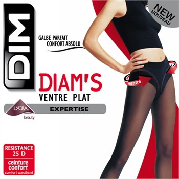 Dim Collant - Ventre Plat Collant - Diam's - chocolat