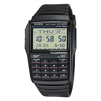 Casio - CASIO DATA BANK - Montre digitale - noir