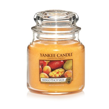 Yankee Candle - Mangue et Pêche - Giara media - giallo