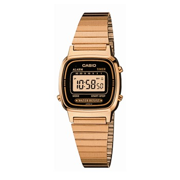 Casio - Collection Retro - Montre digitale - rose