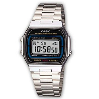 Casio - Casio Collection Retro - Montre digitale - acier