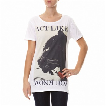 Les Benjamins - Act like panter - T-shirt - blanc