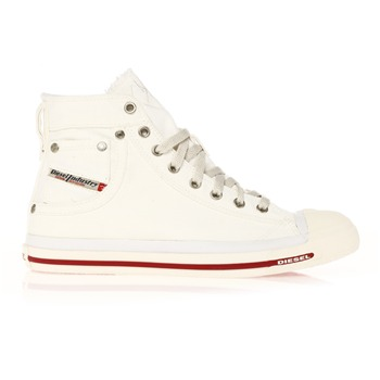 Diesel - Exposure - Sneakers montantes - blanches - 972580