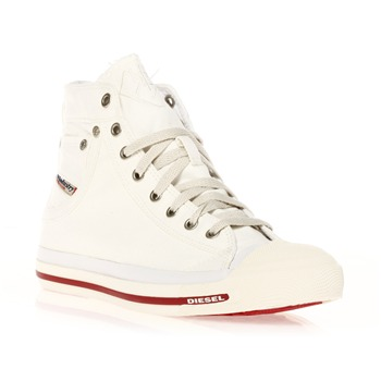 Exposure - Sneakers montantes - blanches