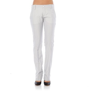 Irina Stripes - Pantalon - blanc