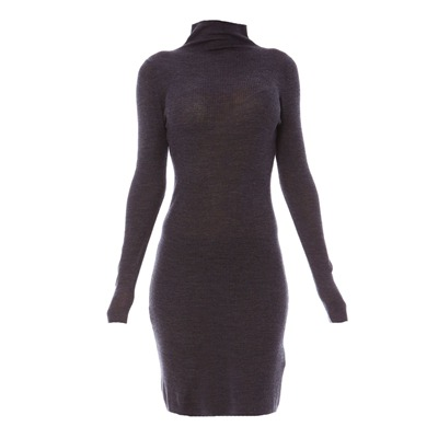 MANOUKIAN Robe - anthracite