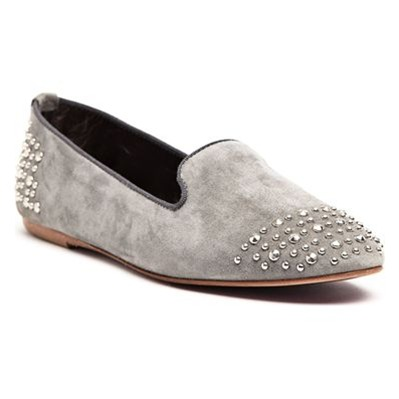 Ann Tuil vicky - chaussures - en cuir gris